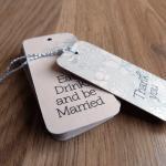 Wedding Favor Tag / Thank You Tag /..