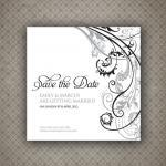 Save the Date Card - Baroque Weddin..