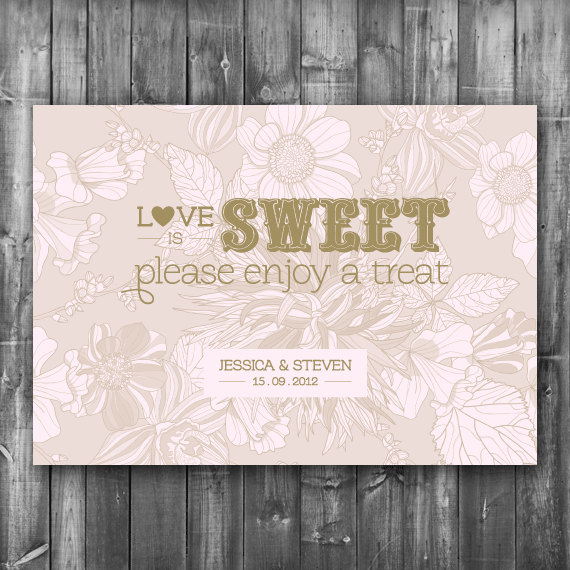 Swell Wedding Candy Bar Sign Digital Printable File Candy Buffet Reception Sign Interior Design Ideas Tzicisoteloinfo