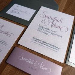Wedding Invitation Suite - Bliss Wedding Range
